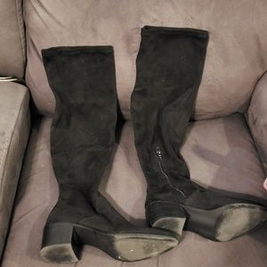 Steve by Steve Madden Wein fashion boot sz 8